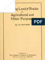 37309236 Clearing Land of Rocks for Agricultural and Other Purposes USA 1918