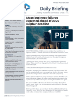 Sulphur 2020- Lloyds Daily Briefing
