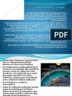 3impactoambiental y Calentamiento Global