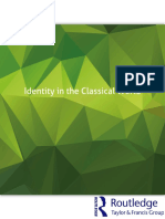 Identity in the Classical World