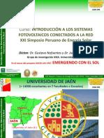 1 XXI SPES.  sistema fotovoltaico