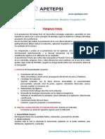 TRABAJO FINAL - Estructura Del Caso Clínico 2017