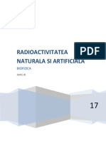 Radioactivitatea Naturala Si Artificiala