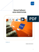 MANUAL SOFTWARE FEEDSTATION