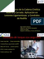 Análisis Clínico de La Cadena Cinética Abierta y Cerrada Final