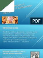 Influencia Española y Africana en La Gastronomia Peruana