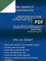 Global Aspects of Entrepreneurship Chapter 15