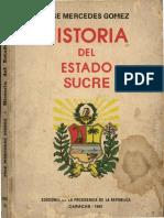 Historia Del Estado Sucre