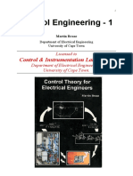 Control Engineering - 1