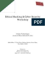 Ethical Hacking CS Brochure