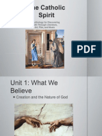 CatholicSpirit-PowerPoint-Unit 1-S1-CreationandNatureofGod