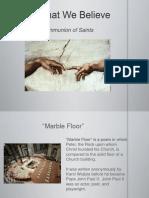 CatholicSpirit-PowerPoint-Unit 1-S4-CommunionofSaints