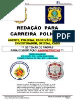 REDAÇÃO POLICIAIS ARGUMENTATIVA