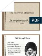 History of Electronics  electricity.pptx