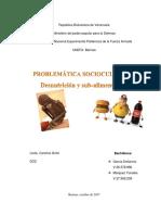 Desnutrición y Sub-Aliementación