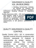 S-1, Quality Assurance & Quality Control