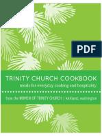 Trinity Church Cookbook