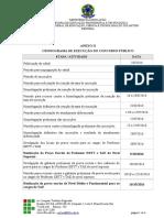 Anexo II Cronograma Retificação n.º11