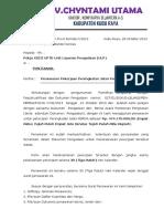 Surat Penawaran CV. Chyntami Utama