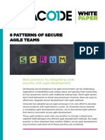 8 Patterns of Secure Sgile Teams Whitepaper