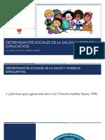 Determinantes Sociales de La Salud y Modelos Explicativos