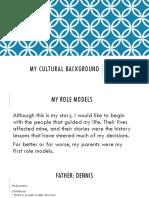 personal cultural project