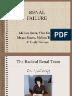 Renal Failure Presentation