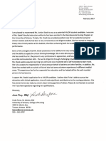 perez letter of recommendation