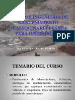 Para El Grupo de Asesoría Para Mecanica Automotriz -Curso-Ingenieria-Mantenimiento-Operadores