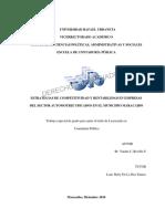 Estrategias de Competitividad y Rentabilidad en Empresas YANINE C, REVILLA N 2010