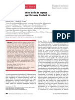 Application of a Reaction Model to Improve Calculation of Sugar Recovery Std