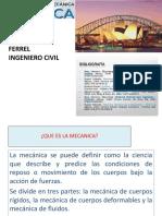 Introduccion de Estatica de Particulas, Fuerzas en Un Plano, Etc