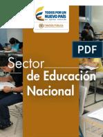 Estructura del Estado Colombiano - Sector de Educación Nacional