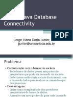 Aula 2.2 - JDBC Codigos e Exemplos