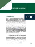 Clases de Palabras PDF