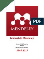 Manual de Mendeley
