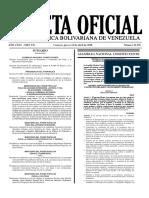 Gaceta Oficial No. 41.376