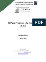 Francisco y La Economía Nota Breve Nº40