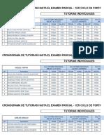 Cronograma - 1era Mitad Del Cfcu b18 2017