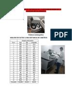Análisis de Los Datos Obtenidos en La Medición de Ruido de La Pulidora Metalografica