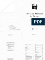 BERTHOLD Margot Historia Mundial Do Teatro PDF 1 8