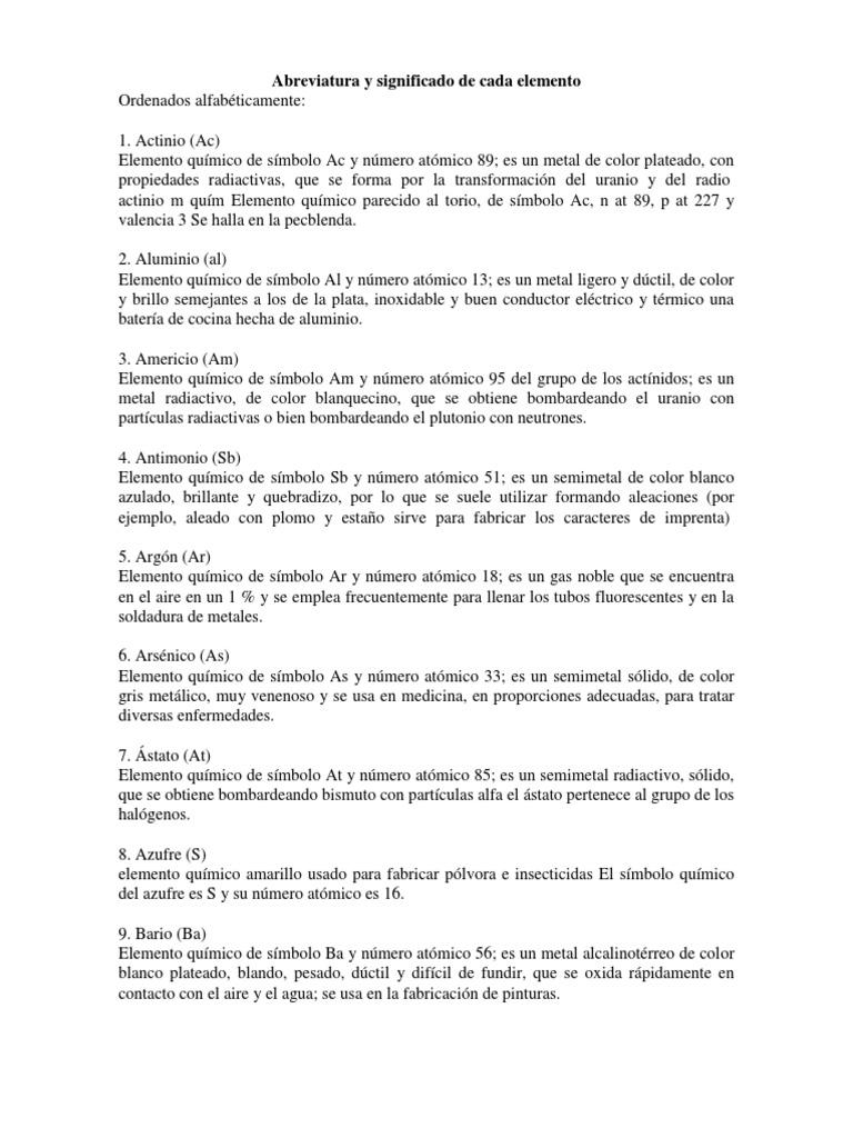 Elementos de la tabla periodica con definicion y simbolo urtaz Image collections