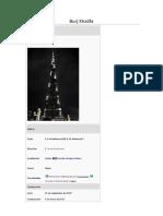 Trabajo Burj Khalifa