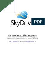 Qué Es Skydrive y Cómo Utilizarlo