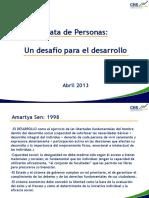 Contexto Trata y Desarrollo MP  Abril 2013