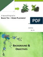 A Quantitative Research Proposal - Project Black