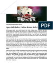 Agen Judi Poker Online Bonus Referral