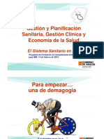 PLANIFICACION SANITARIA