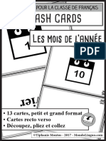 MondoLinguo FlashCards Mois