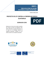Cybercrime Law Guatemala Draft Zero FINAL
